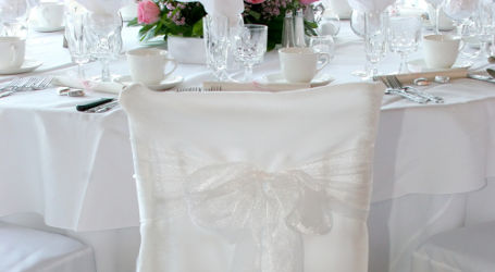 Chair Cover Bow Tie - YouTube
