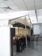 Indoor Marquee inside Dining Hall with Back walls to be Added