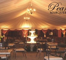 Arabian Marquee Decoration