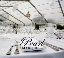 Classic Marquee Table Setting