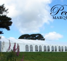 Marquee with Countryside Backdrop
