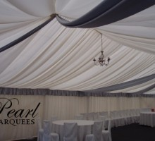 Marquee Lining with drapes