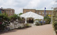 Corporate Marquee On Own Business Premises