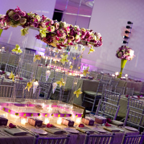 chiavari chairs around tables